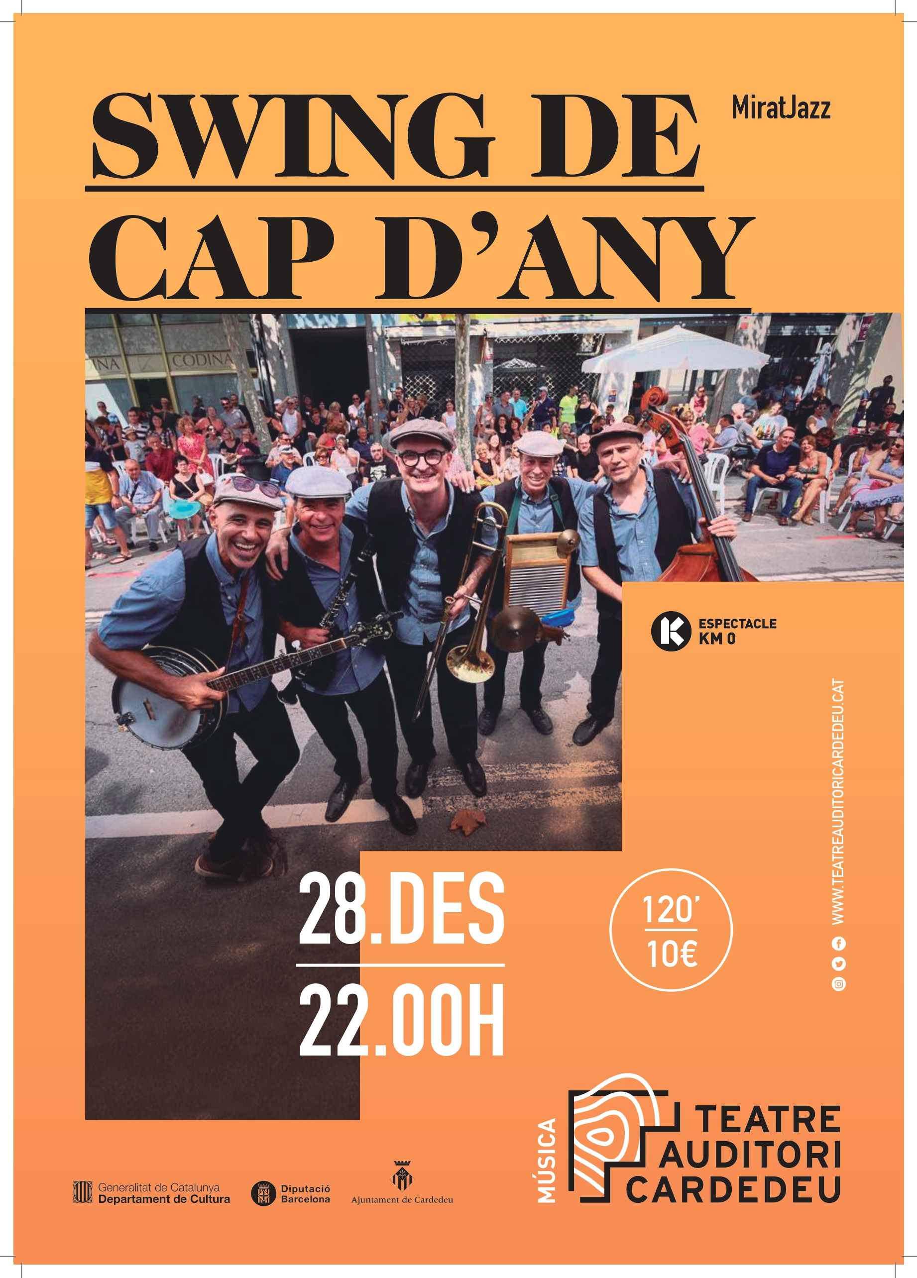 Swing de Cap d'Any – Miratjazz: 28 de desembre